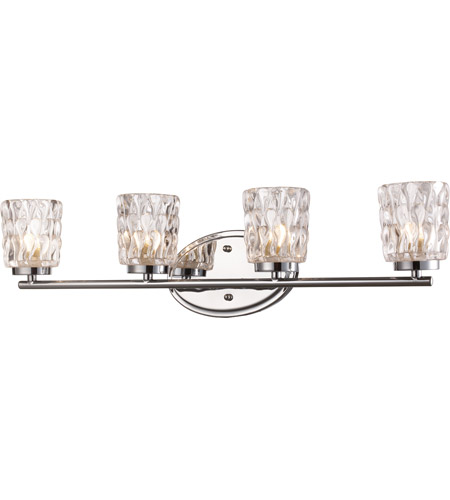 Polished Chrome Brooke Wall Sconces