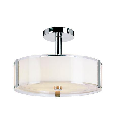 Trans Globe Lighting Contemporary 5 Light Semi-Flush Mount in Polished Chrome 2091-PC photo