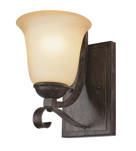 Trans Globe Lighting New Century 1 Light Wall Sconce in Antique Brown Rust 3681-ABR photo