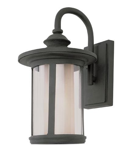 Trans Globe Lighting Classic 1 Light Outdoor Wall Lantern in Black 40040-BK photo