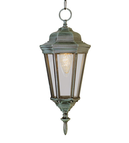 Trans Globe Lighting 4097-VG Waldorf 1 Light 8 inch Verde Green Outdoor Hanging Lantern photo