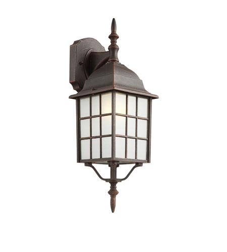 Trans Globe Lighting The Standard 1 Light Outdoor Wall Lantern in Rust 4420-1-RT photo