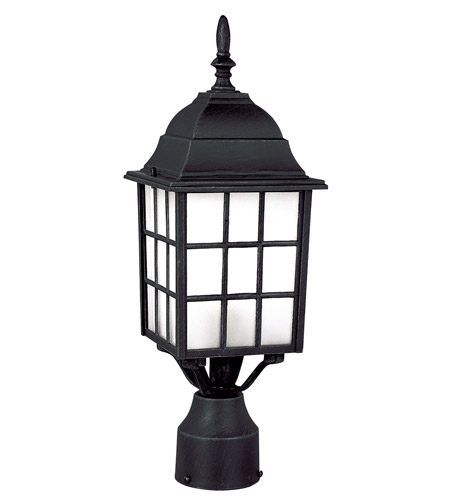 Trans globe city mission 1 light post lantern in black 4421 bk trans globe lighting 4421 bk city mission 1 light 19 inch black post lantern photo aloadofball Images