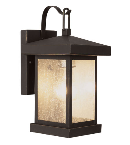 Trans Globe Lighting Coastal 1 Light Outdoor Wall Lantern in Weather Bronze 45640-WB photo