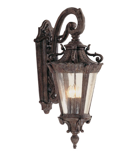 Trans Globe Lighting Estate 4 Light Outdoor Wall Lantern in Patina 4841-PA photo