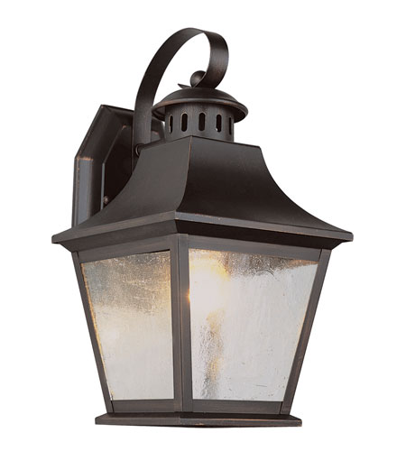 Trans Globe Lighting Classic 1 Light Outdoor Wall Lantern in Rubbed Oil Bronze 4872-ROB photo