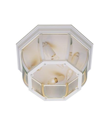 Trans Globe Lighting The Standard 4 Light Outdoor Flush Mount in White 4907-WH photo