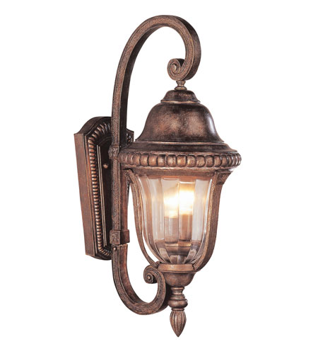 Trans Globe Lighting New American 2 Light Outdoor Hanging Lantern In Brown 4921 Br