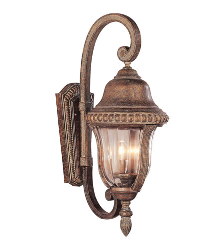 Trans Globe Lighting New American 3 Light Outdoor Wall Lantern in Antique Bronze 4922-ABZ photo