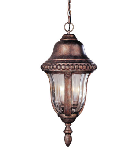 Trans Globe Lighting New American 4 Light Outdoor Hanging Lantern in Brown 4927-BR photo
