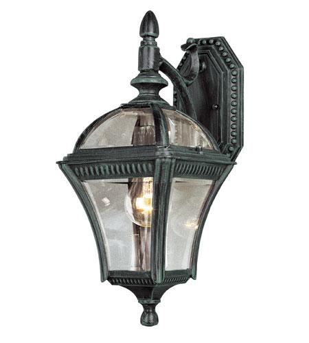 Trans Globe Lighting 5081 Vg Signature 1 Light 16 Inch Verde Green Outdoor Wall Lantern
