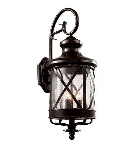 Trans Globe Lighting 5122 Rob England Coast 4 Light 29 Inch Rubbed Oil Bronze Outdoor Wall Lantern
