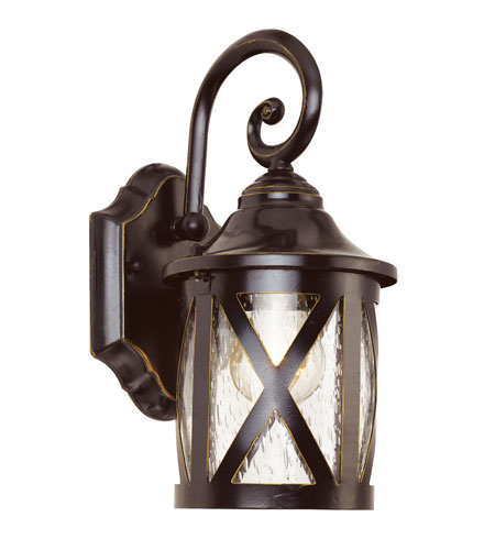 Trans Globe Lighting 5129 ROB New England 1 Light 13 Inch Rubbed Oil Bronze  Outdoor