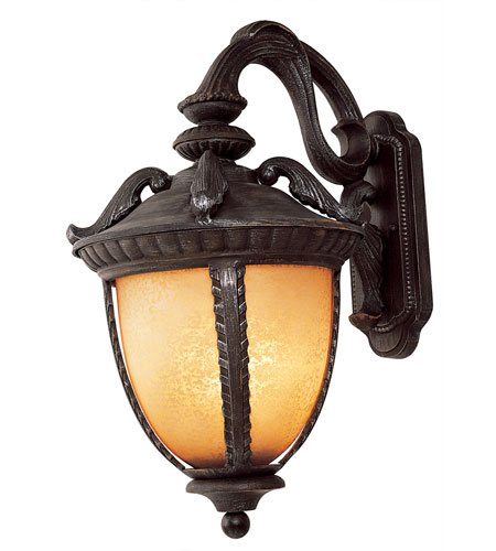 Trans Globe Lighting Villa 2 Light Outdoor Wall Lantern in Burnt Sienna 5272-BS photo