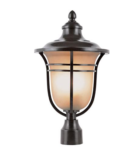 Trans Globe Lighting The Standard 1 Light Post Lantern in Rubbed Oil Bronze 5705-ROB photo