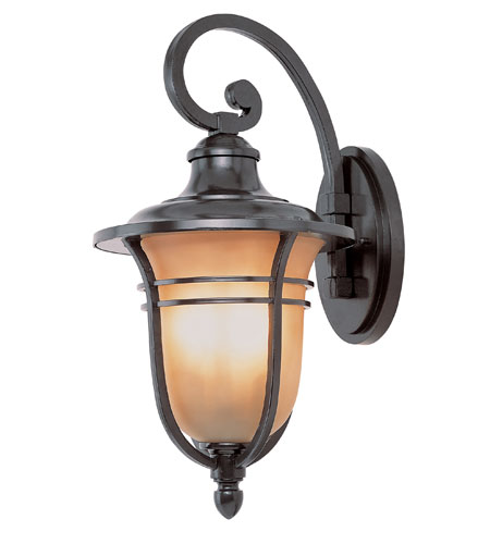 Trans Globe Lighting The Standard 4 Light Outdoor Wall Lantern in Rubbed Oil Bronze 5708-ROB photo