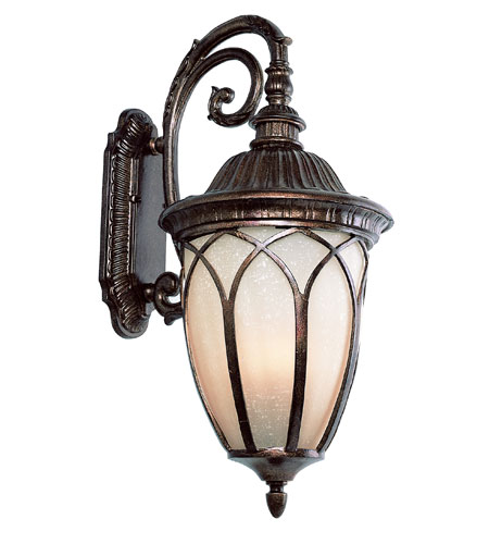 Trans Globe Lighting Estate 3 Light Outdoor Wall Lantern In Bronze 5716 Br Photo