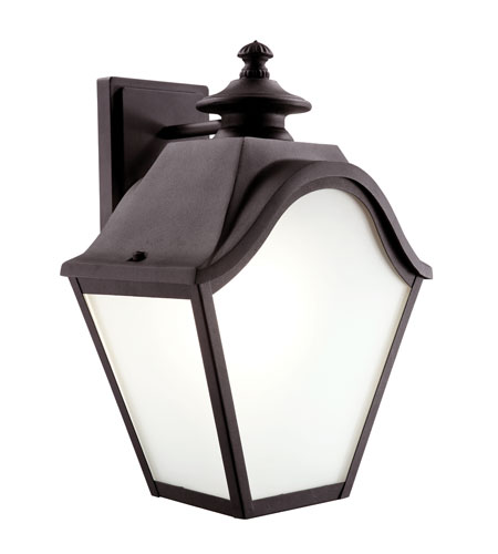 Trans Globe Lighting Classic 2 Light Outdoor Wall Lantern in Black 5811-BK photo