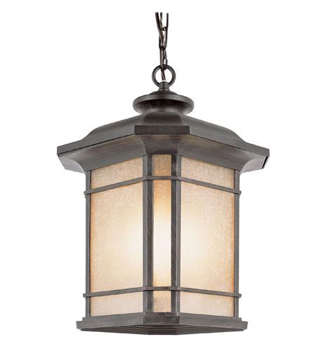 Trans Globe Lighting The Standard 3 Light Outdoor Hanging Lantern in Rust 5826-RT photo