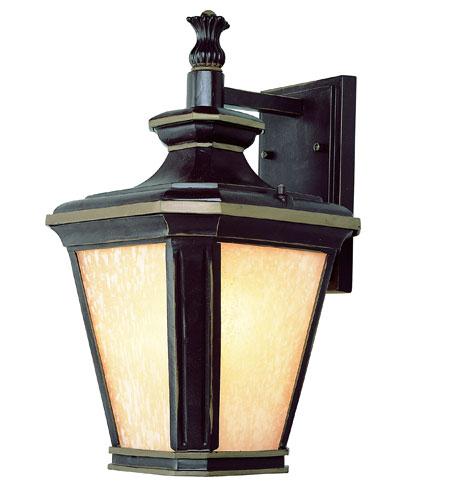 Trans Globe Lighting New American 1 Light Outdoor Wall Lantern in Brown W/Gold 5841-BGO photo