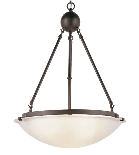 Trans Globe Lighting 58613-ROB Contemporary 3 Light 20 inch Rubbed Oil Bronze Pendant Ceiling Light photo