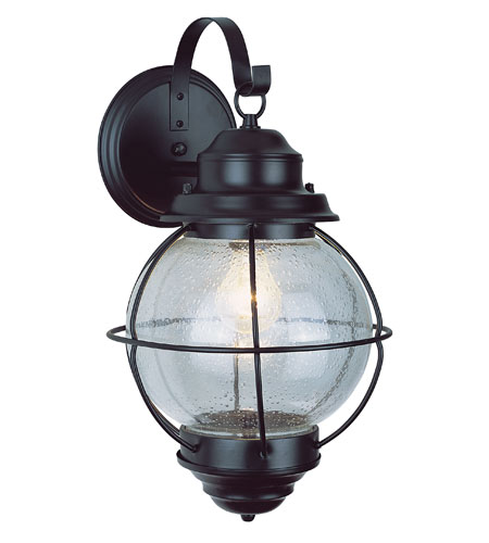 Trans Globe Lighting 69900 Bk Onion 1 Light 14 Inch Black Outdoor Wall Lantern Photo
