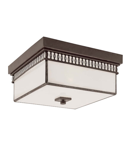 Trans Globe Lighting Contemporary 2 Light Flush Mount in Rubbed Oil Bronze 70170-ROB photo