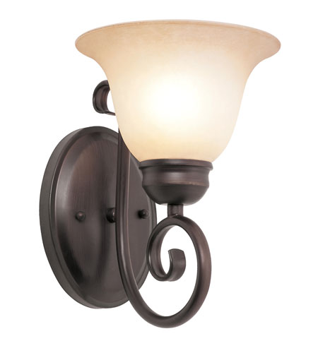 Trans Globe Lighting 70221-1-ROB Victorian 1 Light 7 inch Rubbed Oil Bronze Wall Sconce Wall Light photo