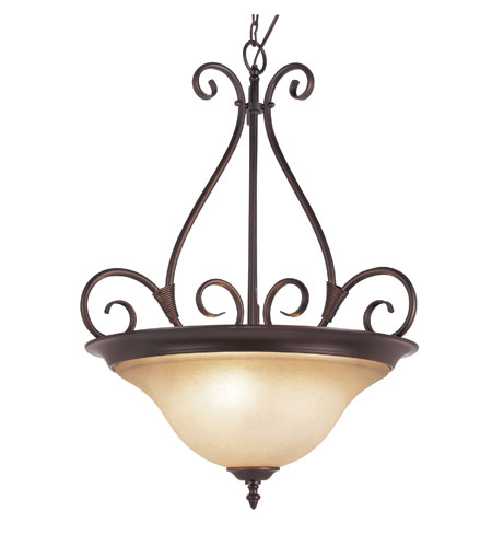 Trans Globe Lighting 70224-ROB Victorian 3 Light 21 inch Rubbed Oil Bronze Pendant Ceiling Light photo