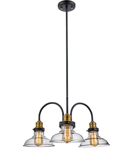 Trans globe lighting 70825 rob jackson 3 light 24 inch rubbed oil bronze pendant ceiling
