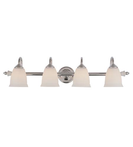 Trans Globe Lighting Signature 4 Light Bath Bar in Polished Chrome 7134-PC photo