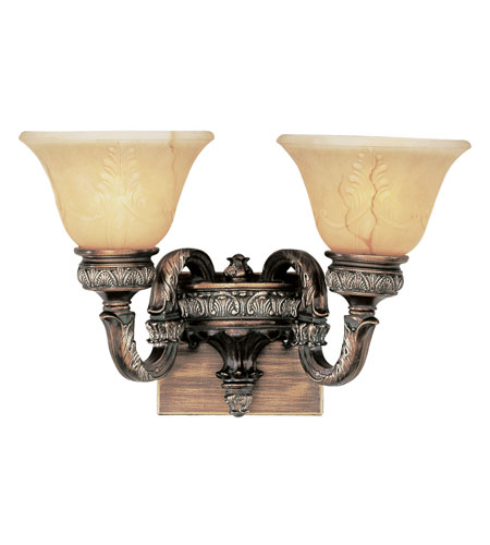 Trans Globe Lighting In The Mediterranean 2 Light Wall Sconce in Imperial Copper 8521-IC photo