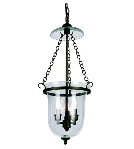 Trans Globe Lighting Signature 3 Light Pendant in Rubbed Oil Bronze 8705-ROB photo
