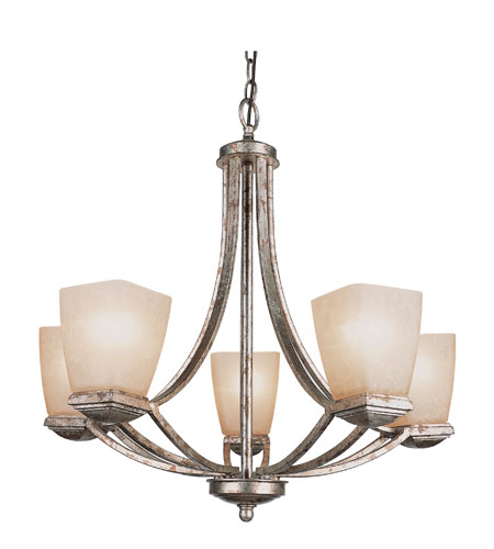 Trans Globe Lighting Modern Meets Traditional 5 Light Chandelier 9675 photo