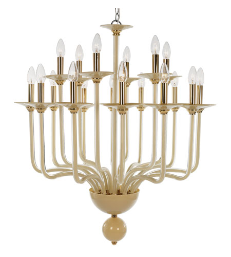 Trans Globe Lighting Versailles 18 Light Chandelier in Gold ATLANTA-18-GL photo