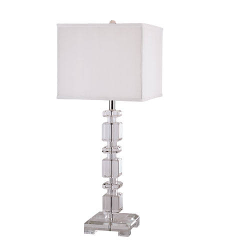 Trans Globe Lighting Crystal 1 Light Table Lamp in Chrome CTL-122 photo
