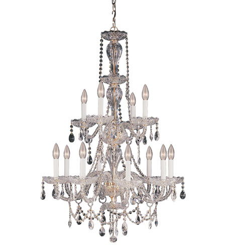 Trans Globe Lighting Versailles 12 Light Chandelier in Gold EC-12-GL photo