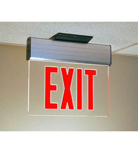 Trans Globe Lighting 1 Light Safety Light in Clear EXIT-4531 photo
