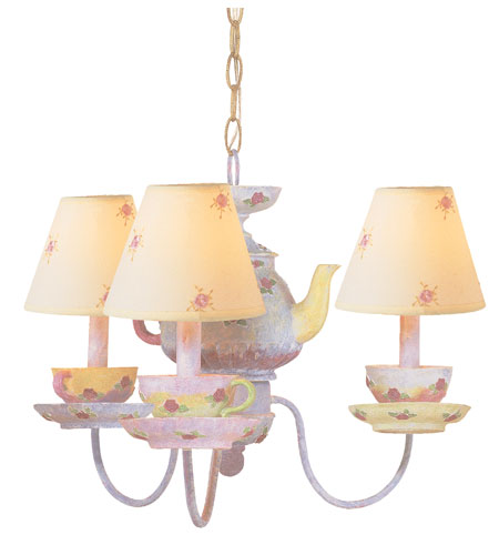 Trans Globe Lighting Kids Korner 3 Light Chandelier in Multi Color KDL-210 photo