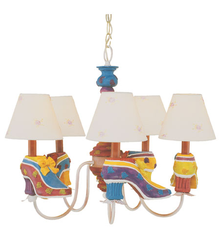 Trans Globe Lighting Kids Korner 5 Light Chandelier KDL-220 photo