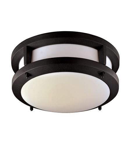 Led Ceiling Light Globe: Signature 10 Inch Black Flush Mount Ceiling Light