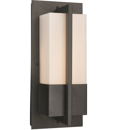 Trans Globe Lighting Led 50150 Bk Venue 12 Inch Black Outdoor Wall Sconce