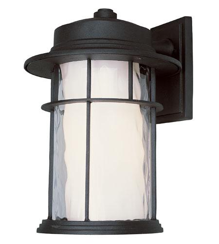 Trans Globe Lighting Energy Efficient Outdoor 6 Light Wall Lantern in Black LED-5292-BK photo