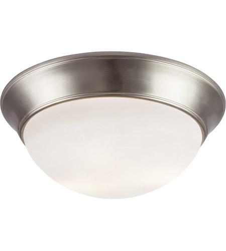 Trans Globe Lighting Led 57705 Bn Bolton Led 16 Inch Brushed Nickel Flush Mount Ceiling Light