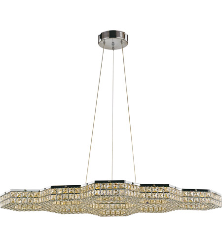 Trans Globe Lighting MDN-1411 Venue LED 25 inch Polished Chrome Pendant Ceiling Light photo