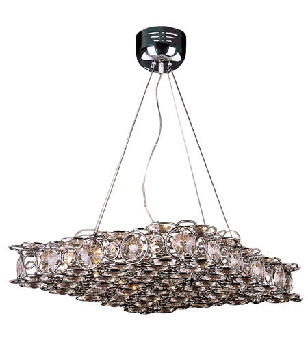 Trans Globe Lighting Modern 14 Light Pendant in Chrome MDN-569 photo