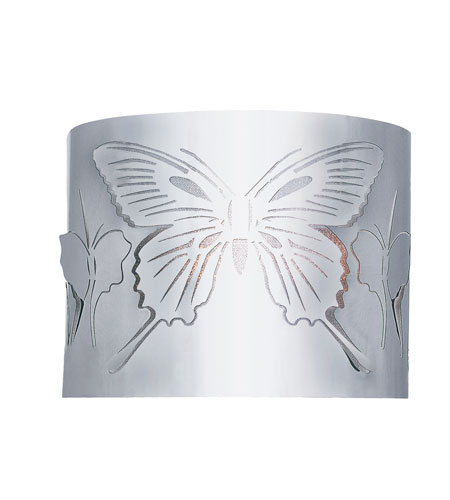 Trans Globe Lighting Modern Meets Traditional 1 Light Wall Sconce in Polished Chrome MDN-938 photo