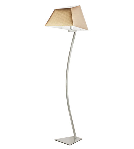 Trans Globe Lighting Young And Hip 1 Light Floor Lamp in Polished Chrome MDN-953 photo