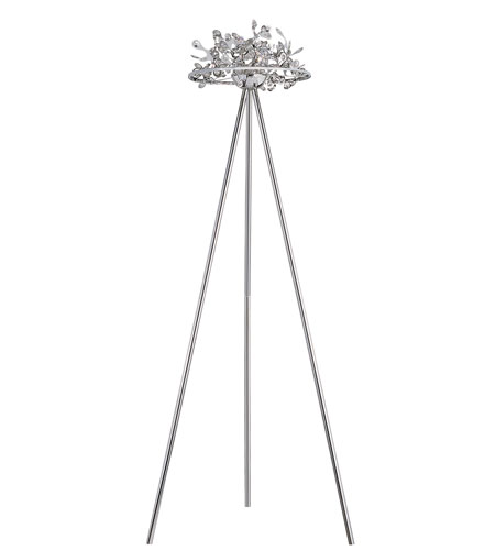 Trans Globe Lighting Modern Collection 5 Light Floor Lamp in Polished Chrome MDN-958 photo