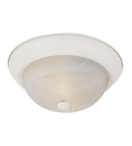 Trans Globe Lighting Energy Efficient Indoor 3 Light Flush Mount in Antique White PL-13619-AW photo